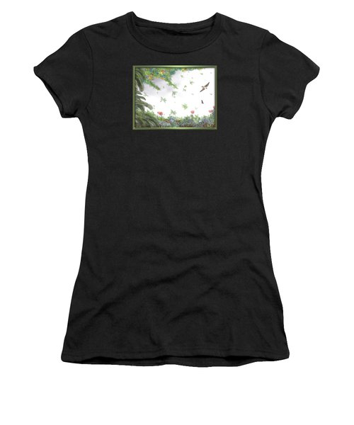 Paradise Without War Women's T-Shirt (Athletic Fit)