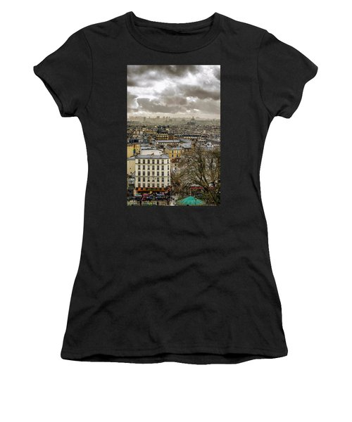 Paris As Seen From The Sacre-coeur Women's T-Shirt