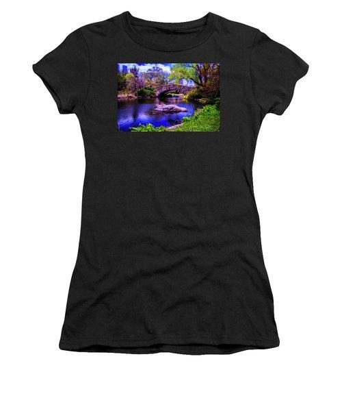 Park Bridge Women's T-Shirt (Athletic Fit)