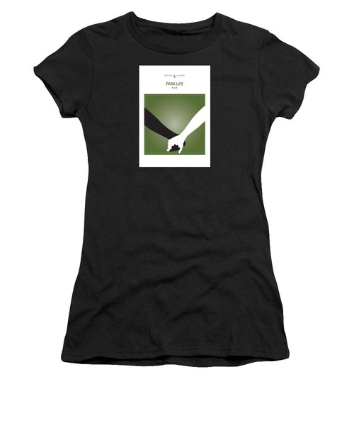 Park Life -- Blur Women's T-Shirt (Junior Cut) by David Davies