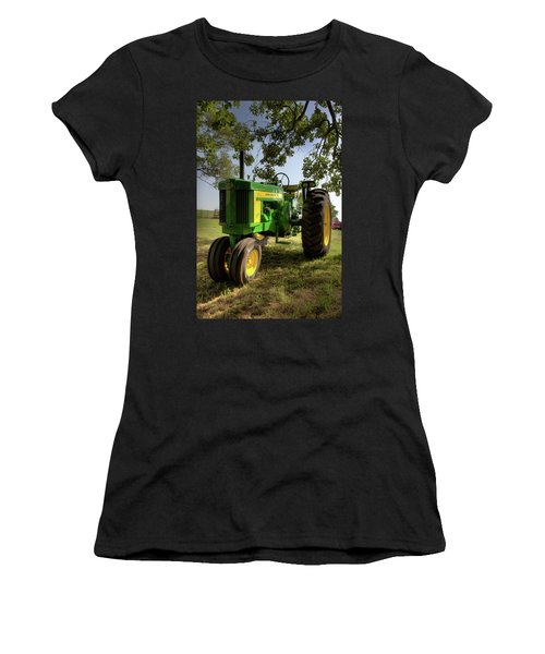 Parked John Deere 2 Women's T-Shirt (Athletic Fit)