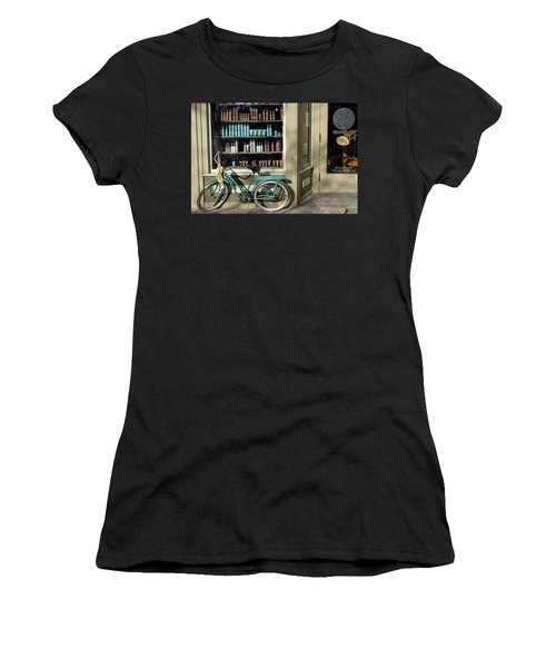 Parked Outside Women's T-Shirt (Athletic Fit)
