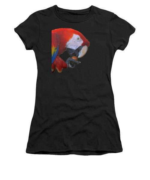 Parrot Having A Snack Women's T-Shirt