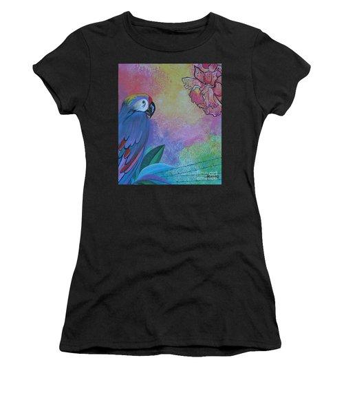 Parrot In Paradise Women's T-Shirt