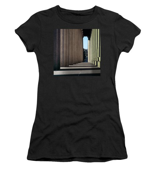 Parthenon Shadow Tunnel Women's T-Shirt