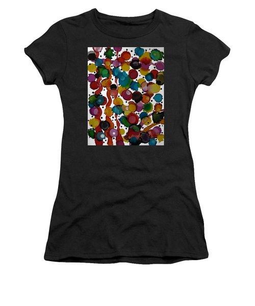 Party Time Women's T-Shirt (Junior Cut) by Alika Kumar