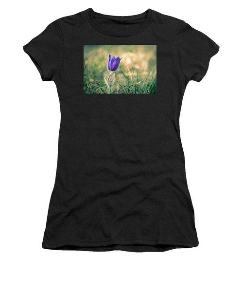 Pasque Flower Women's T-Shirt