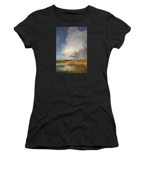 Passing Late Afternoon Rain Shower Women's T-Shirt (Athletic Fit)