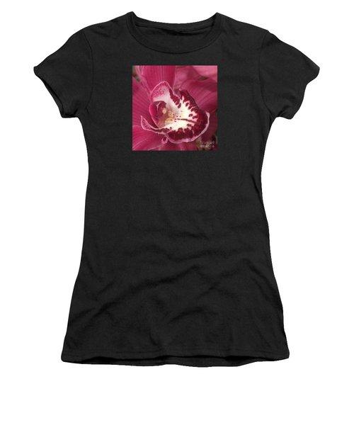 Passionate Purple Women's T-Shirt (Athletic Fit)