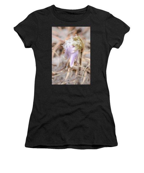 Past Pasque Women's T-Shirt (Athletic Fit)