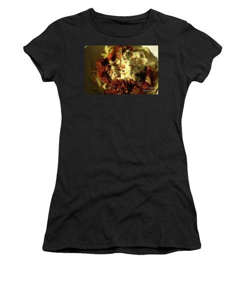 Pasta Women's T-Shirt (Athletic Fit)
