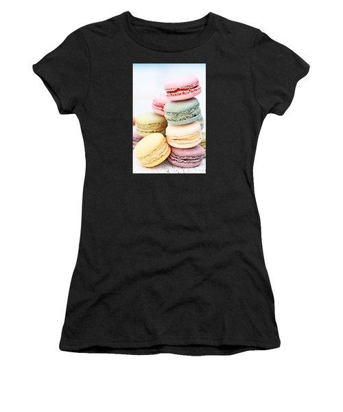 Pastel Macarons Women's T-Shirt