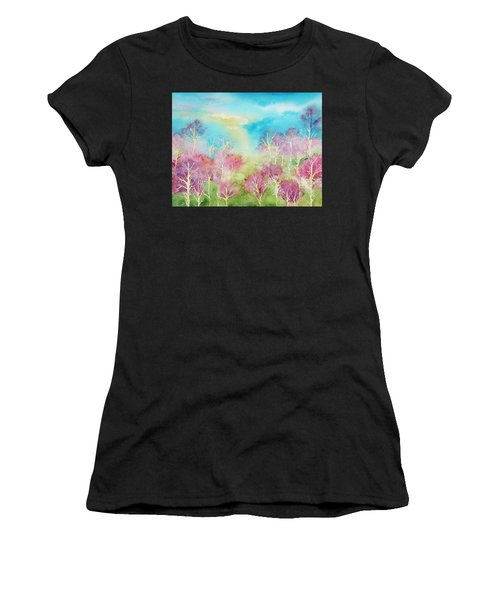 Pastel Spring Women's T-Shirt (Athletic Fit)