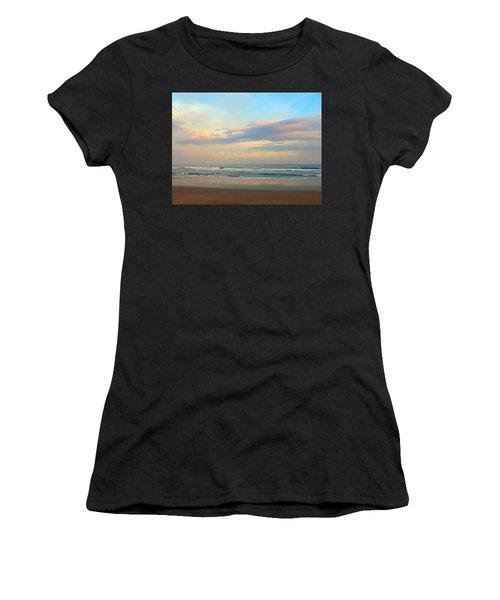 Pastel Sunrise Women's T-Shirt (Athletic Fit)