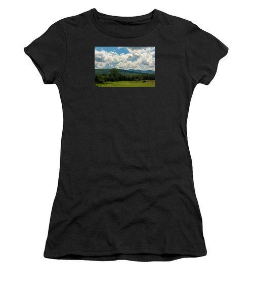 Pastoral Landscape With Mountains Women's T-Shirt