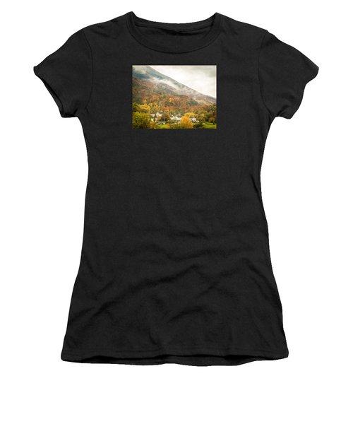 Pastoral Village Women's T-Shirt (Athletic Fit)