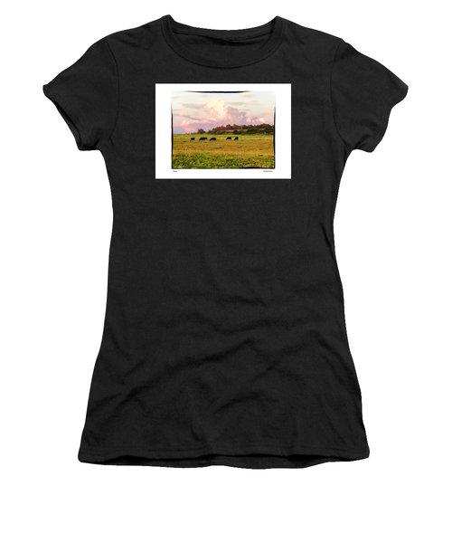 Pasture Women's T-Shirt (Athletic Fit)