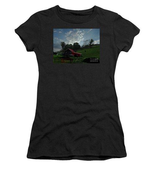Pasture Under Elements Women's T-Shirt