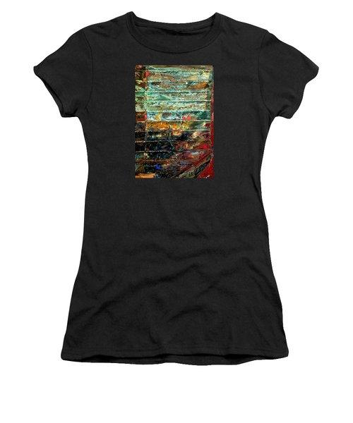Patchworks 1 Women's T-Shirt (Athletic Fit)