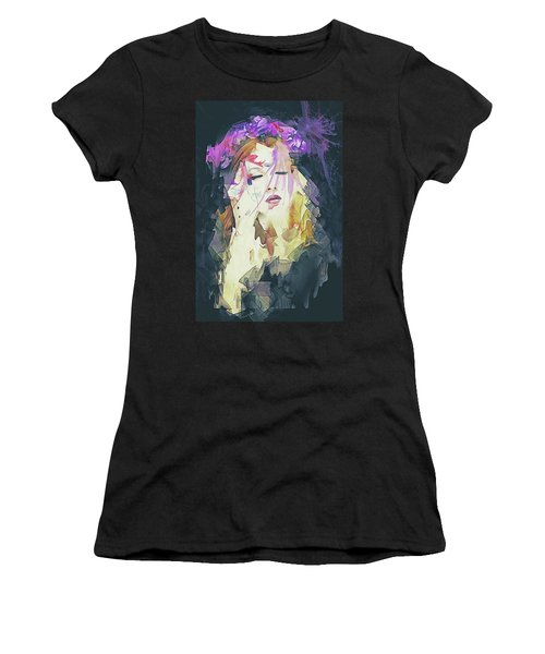 Path Abstract Portrait Women's T-Shirt