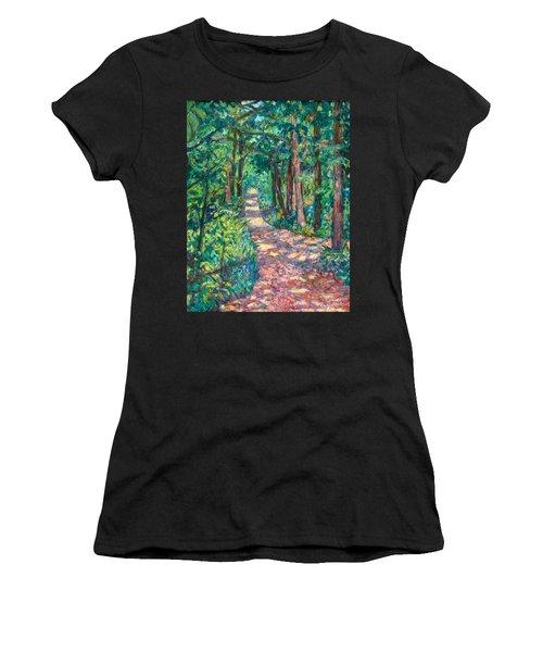 Path On Sharp Top Women's T-Shirt