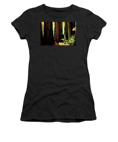 Path Through The Forest Edge . 7d5432 Women's T-Shirt