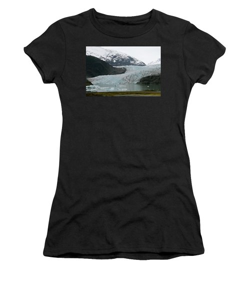 Pathway To An Icy Wonderland Women's T-Shirt