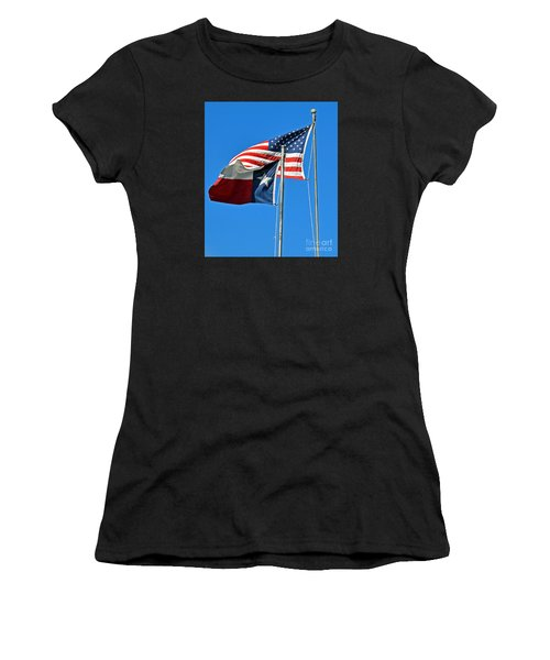 Patriot Proud Texan  Women's T-Shirt