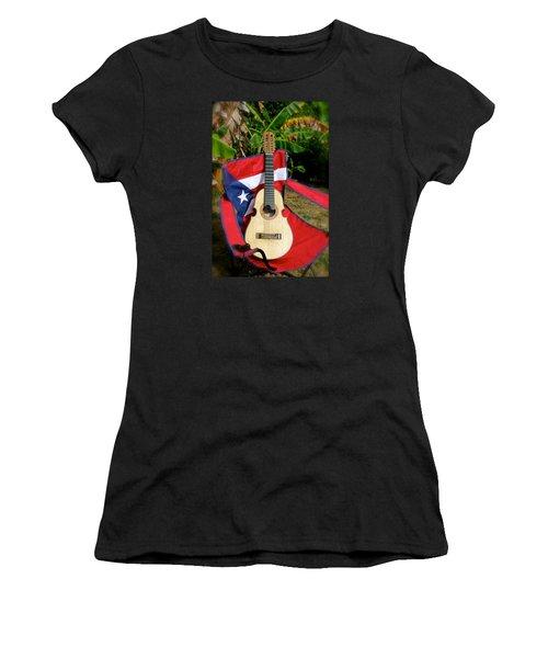 Patriotic Cuatro Women's T-Shirt