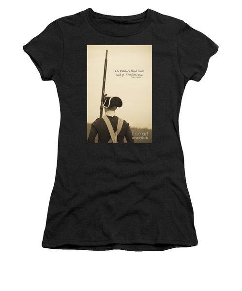 Patriots Blood Memorial Day Women's T-Shirt