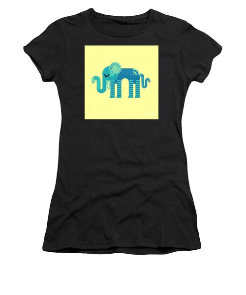 Pattern Elephant Women's T-Shirt