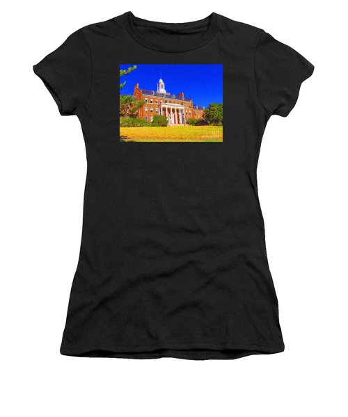 Patterson Hall  Women's T-Shirt (Athletic Fit)