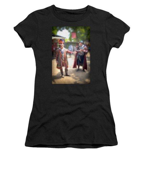 Repay Your Debt Women's T-Shirt (Athletic Fit)