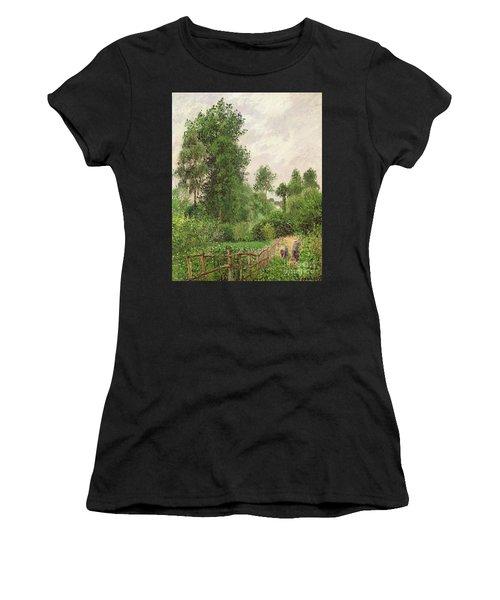 Paysage, Temps Gris A Eragny Women's T-Shirt