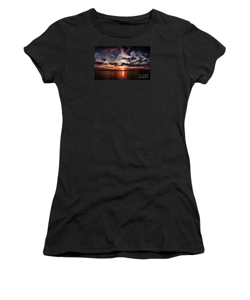Peace Along The River Women's T-Shirt (Athletic Fit)