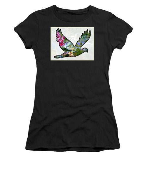 Peace For Peace Women's T-Shirt (Athletic Fit)