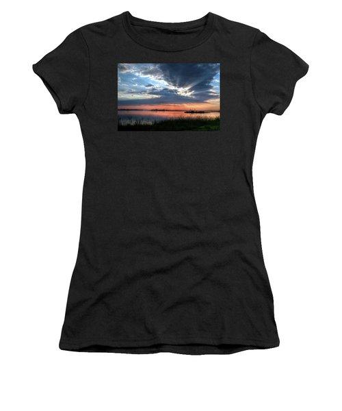Peace Women's T-Shirt (Junior Cut) by Ronda Ryan