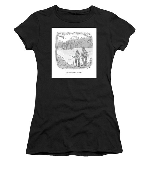 Peaceful Hikers Women's T-Shirt