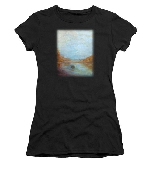 Peaceful Pond Women's T-Shirt (Athletic Fit)