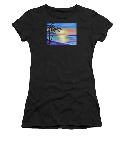 Peaceful Sunset Women's T-Shirt