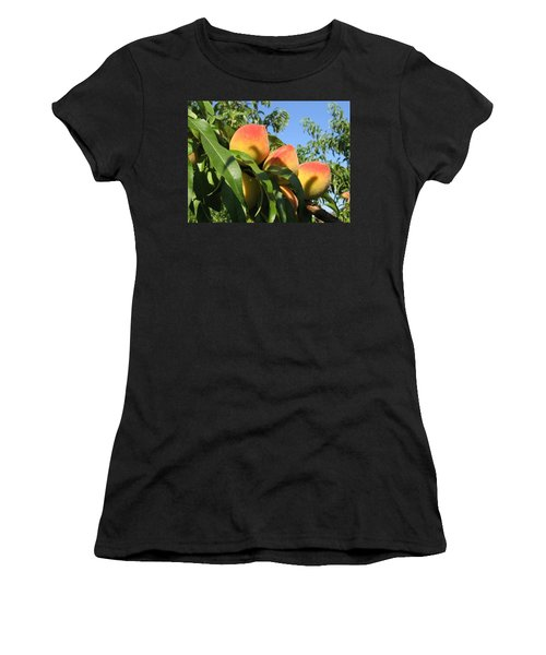 Peaches Women's T-Shirt (Athletic Fit)