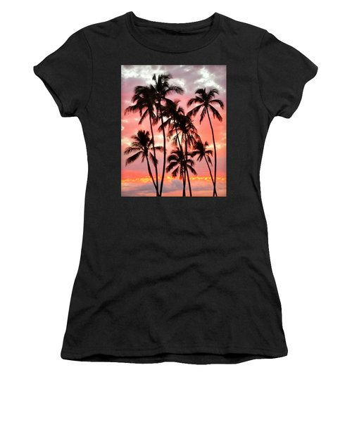 Peachy Palms Women's T-Shirt (Athletic Fit)