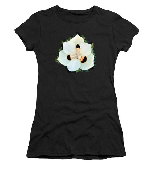 Peacock Flower T-shirt Women's T-Shirt (Athletic Fit)