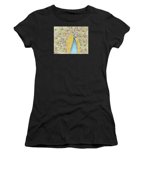 Peacock One Women's T-Shirt (Athletic Fit)