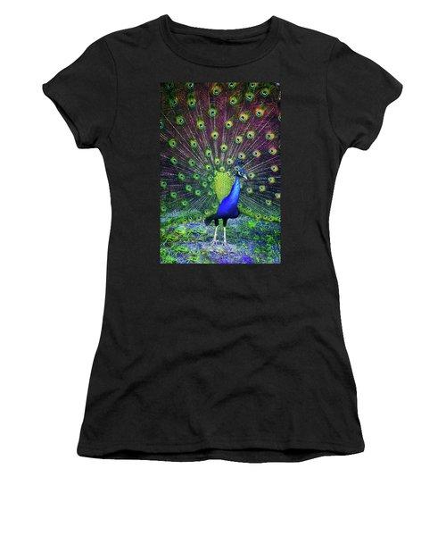 Peacock Series 9801 Women's T-Shirt