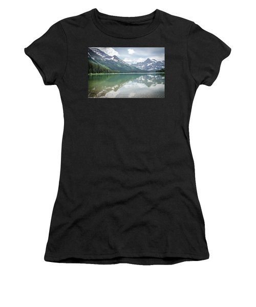 Peaks At Lake Josephine Women's T-Shirt (Athletic Fit)