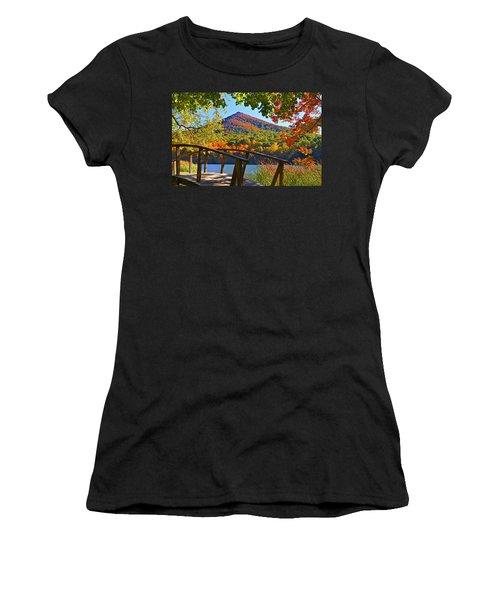 Peaks Of Otter Bridge Women's T-Shirt