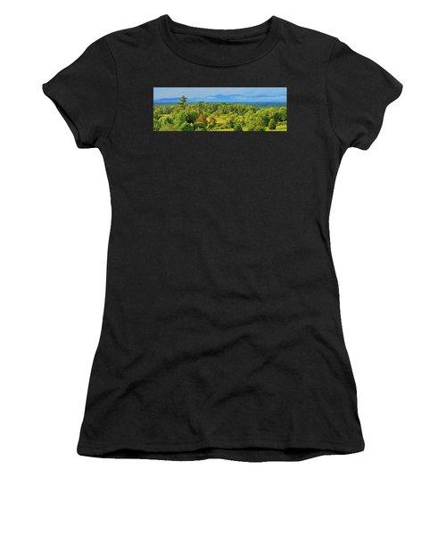 Peaks Of Otter Rainstorm Women's T-Shirt