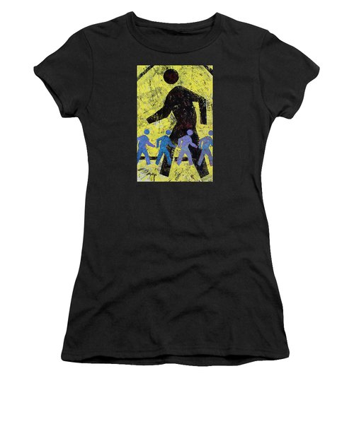 Pedestrian Crossing Women's T-Shirt