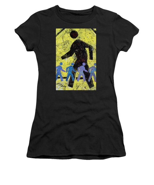 Pedestrian Women's T-Shirt (Athletic Fit)